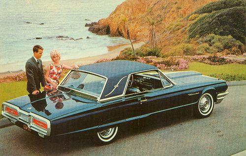 1964 Ford Thunderbird Landau With Images Ford Thunderbird