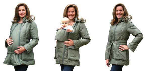 baby wearing/maternity coat