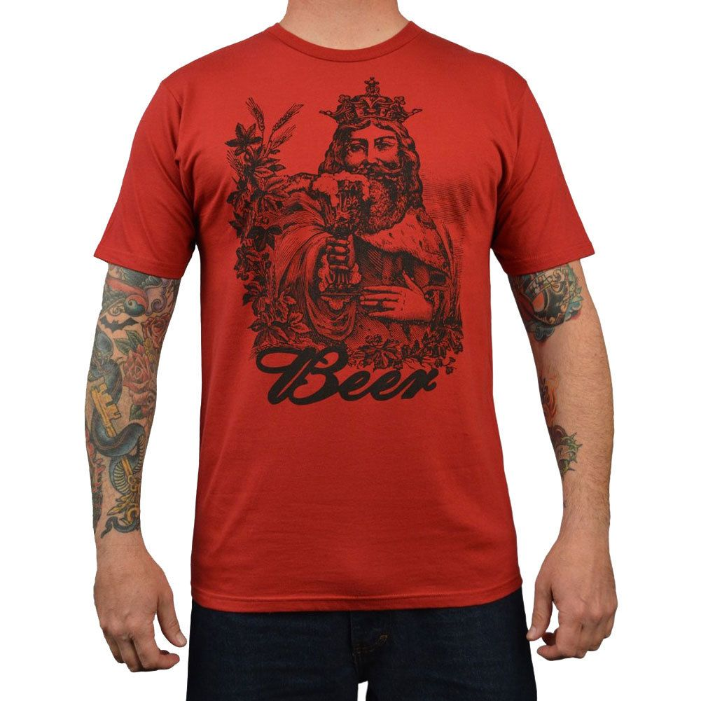 Beer King Annex Clothing Men's Tee Shirt Mens tee shirts