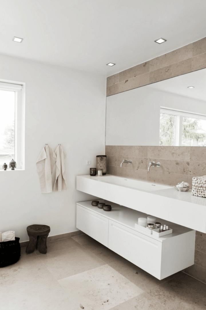 Simple Home and Apartment Interior Design Bathroom