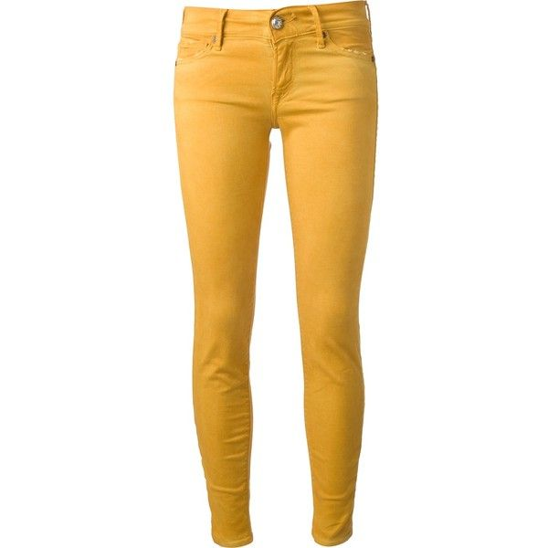 Htc Hollywood Trading Company Skinny Jeans 130 Liked On Polyvore Featuring Jeans Pants Bottoms Pantalones Yellow Skinny Jeans Skinny Skinny Fit Jeans
