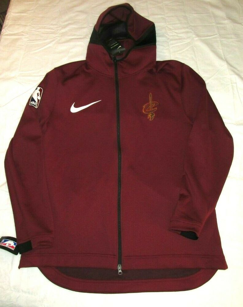 b5c9b241f88 Nike Cleveland Cavaliers Therma Flex Showtime Hoodie Mens 2XL Team Red  Nike