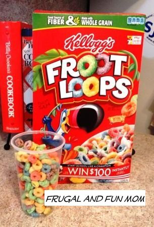 I ate froot loops in the shower one time. Best shower ever.