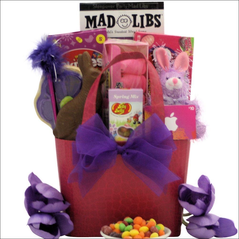 Easter diva easter gift basket for tween girl ages 10 13 years old easter diva easter gift basket for tween girl ages 10 13 years old negle Images