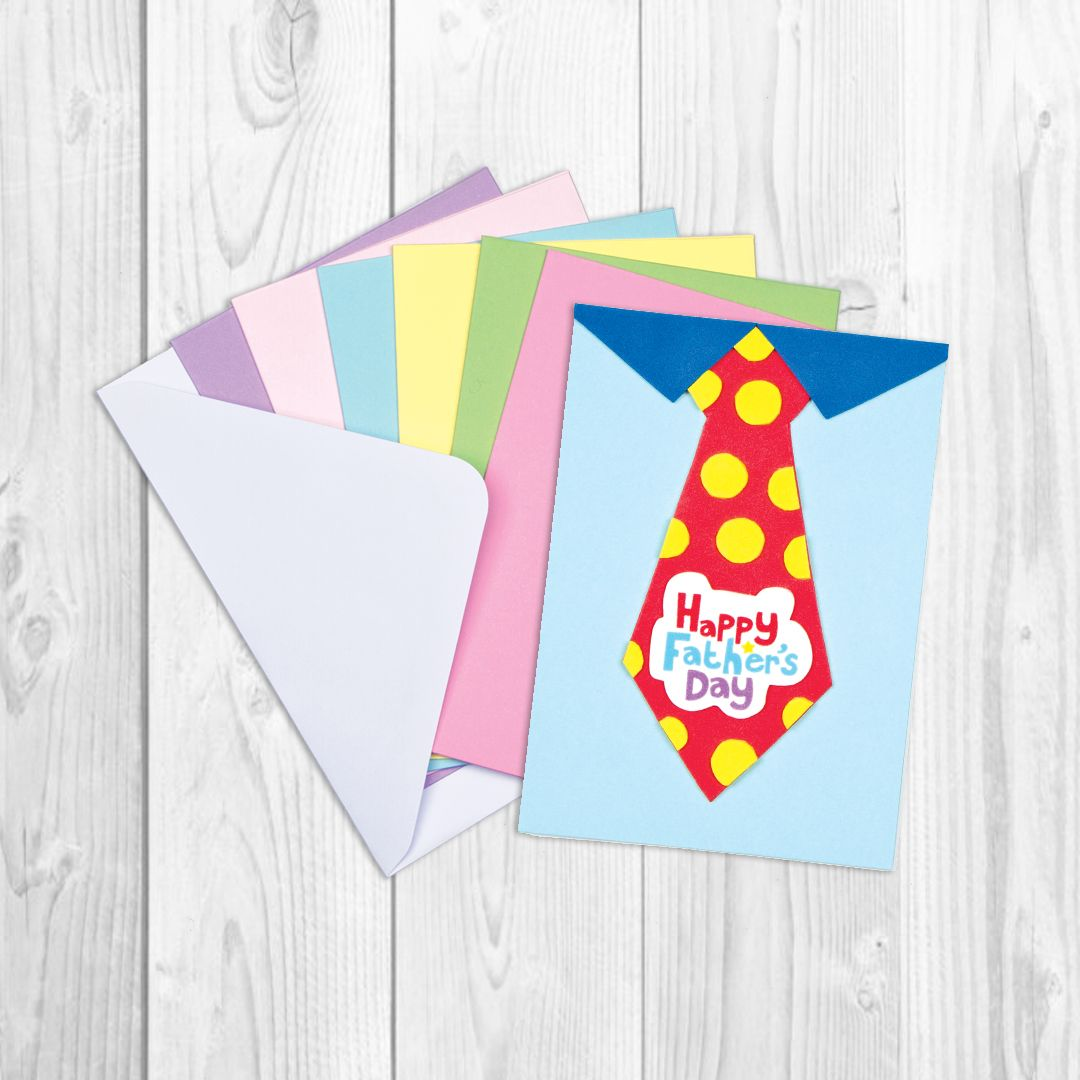 Coloured card blanks bakerross happy father card card and white coloured card blanks bakerross m4hsunfo