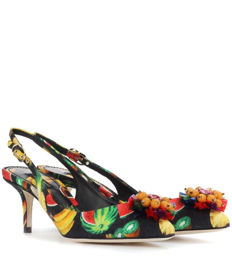 Laced Slingbacks Spring/summerDolce & Gabbana p08SPJTgHj