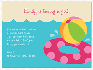 Pool party baby shower pool party invitations its a summer pool party baby shower pool party invitations its a summer baby shower splash filmwisefo Gallery