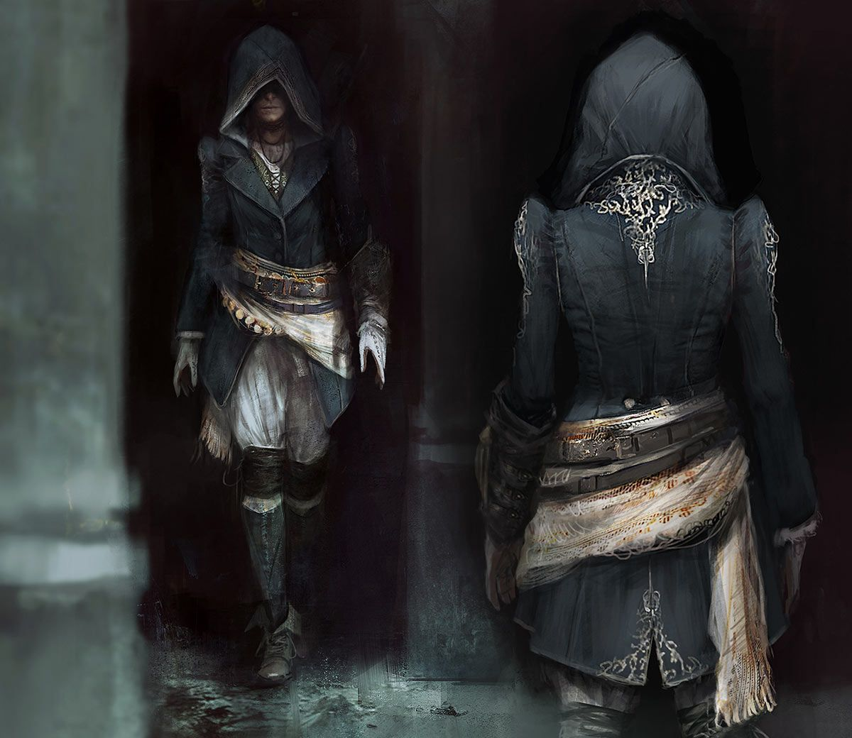 Evie Concept Characters Art Assassin S Creed Syndicate