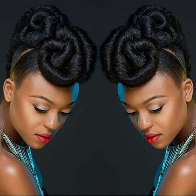 Formal Natural Hair Natural Hair Updo Natural Hair Styles Hair Updos