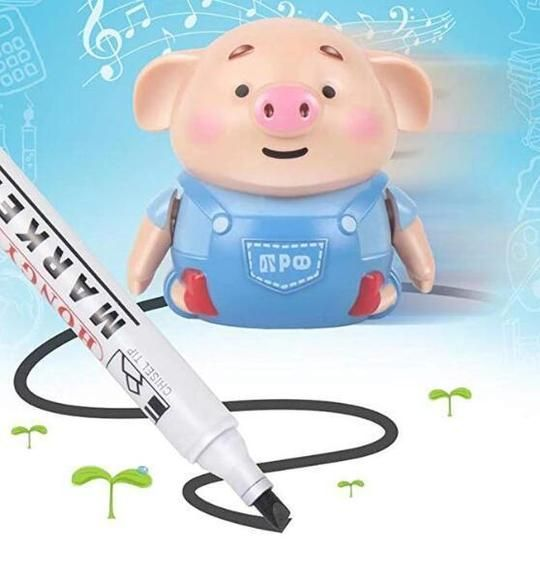 Educational Creative Pen Inductive Toy Pig in 2020 ...