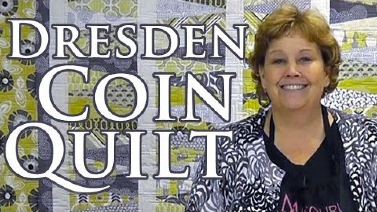 Jenny Doan Demonstrates How To Make A Beautiful Dresden Coin Quilt