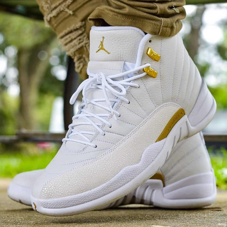 hot sale online 54aae eb515 Nike Air Jordan 12 x OVO