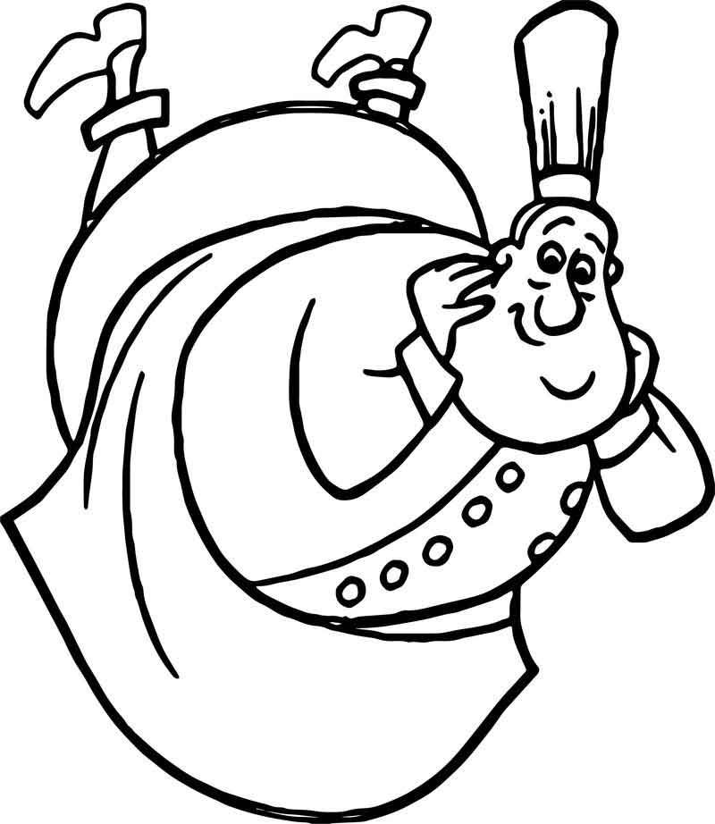 Ratatouille Mouse Auguste Gusteau Coloring Pages ...