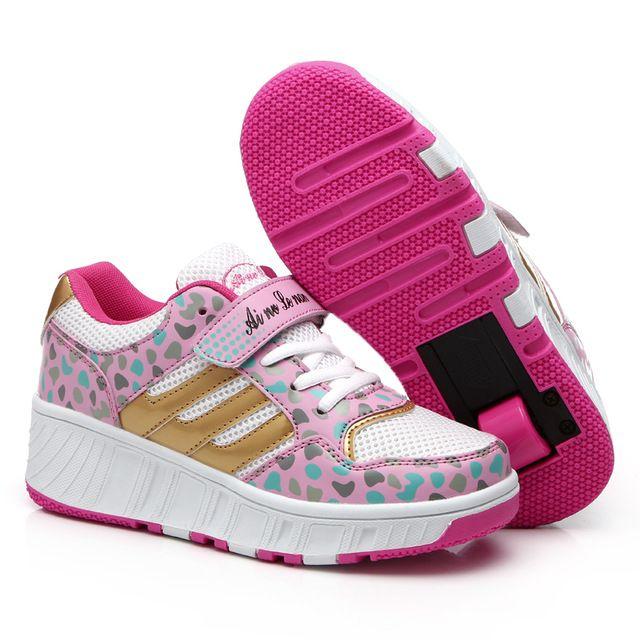 Zapatos rosas Heelys infantiles thAA3h