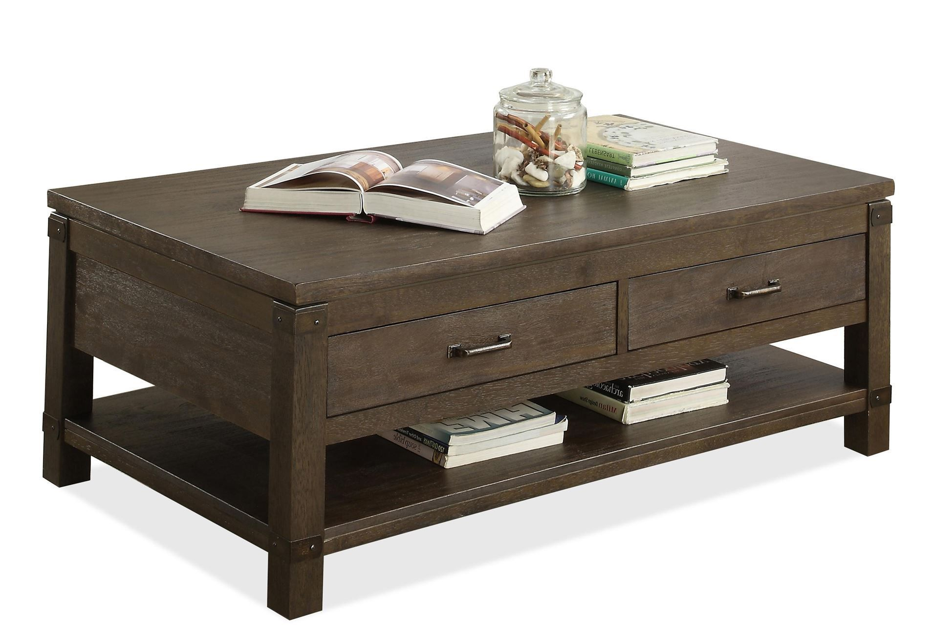 Livingston Coffee Table With Drawers Coffee Table Living Room Furniture Inspiration Furniture [ 1288 x 1911 Pixel ]