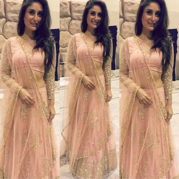 10 Best Looks Of Kareena Kapoor In Lehenga Indian Outfits Manish Malhotra Dresses Indian Fashion