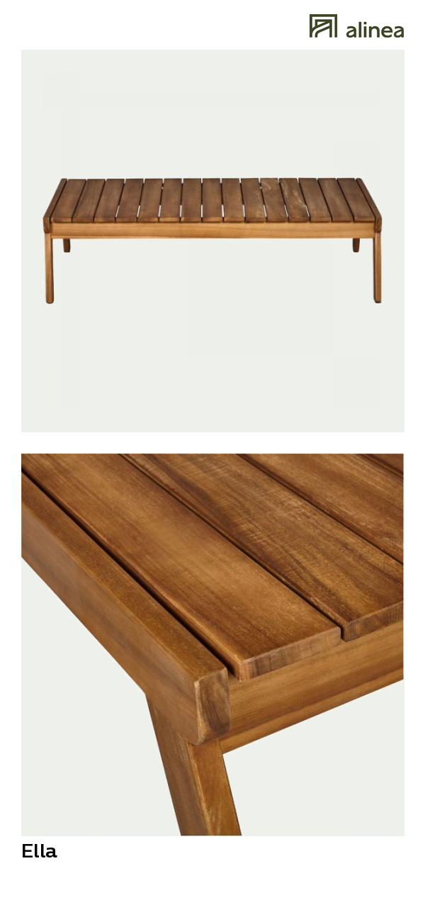 table basse jardin mobilier de salon