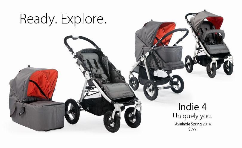 Indie 4 A compact, lightweight all terrain stroller
