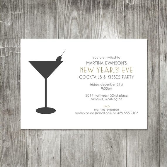 cocktail party invite Party ideas Pinterest Cocktail party