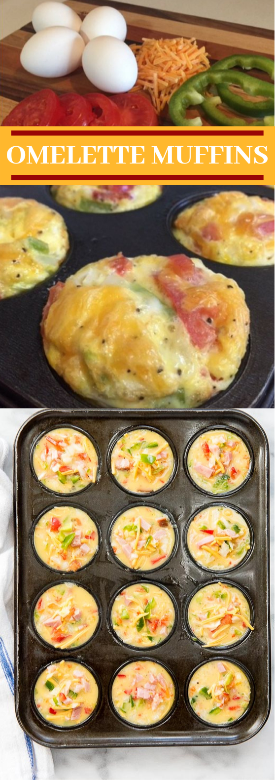 Omelette Muffins #healthy #breakfast #keto #lowcarb #glutenfree #insurancequotes
