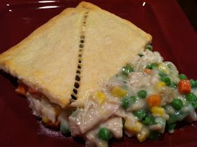 You can do it... YOURSELF!: Crescent Roll Pot Pie