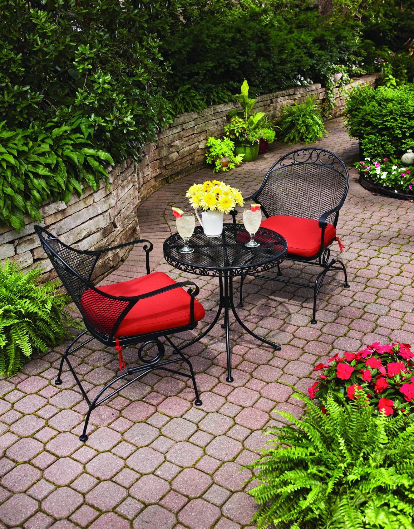 Better homes gardens bistro set outdoor bargains - Better homes and gardens bistro set ...