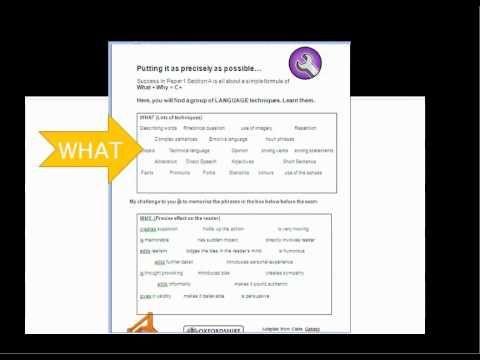 Aqa Gcse English Revision Foundation Tier Writing About Language English Gcse Revision Gcse English Language And Literature