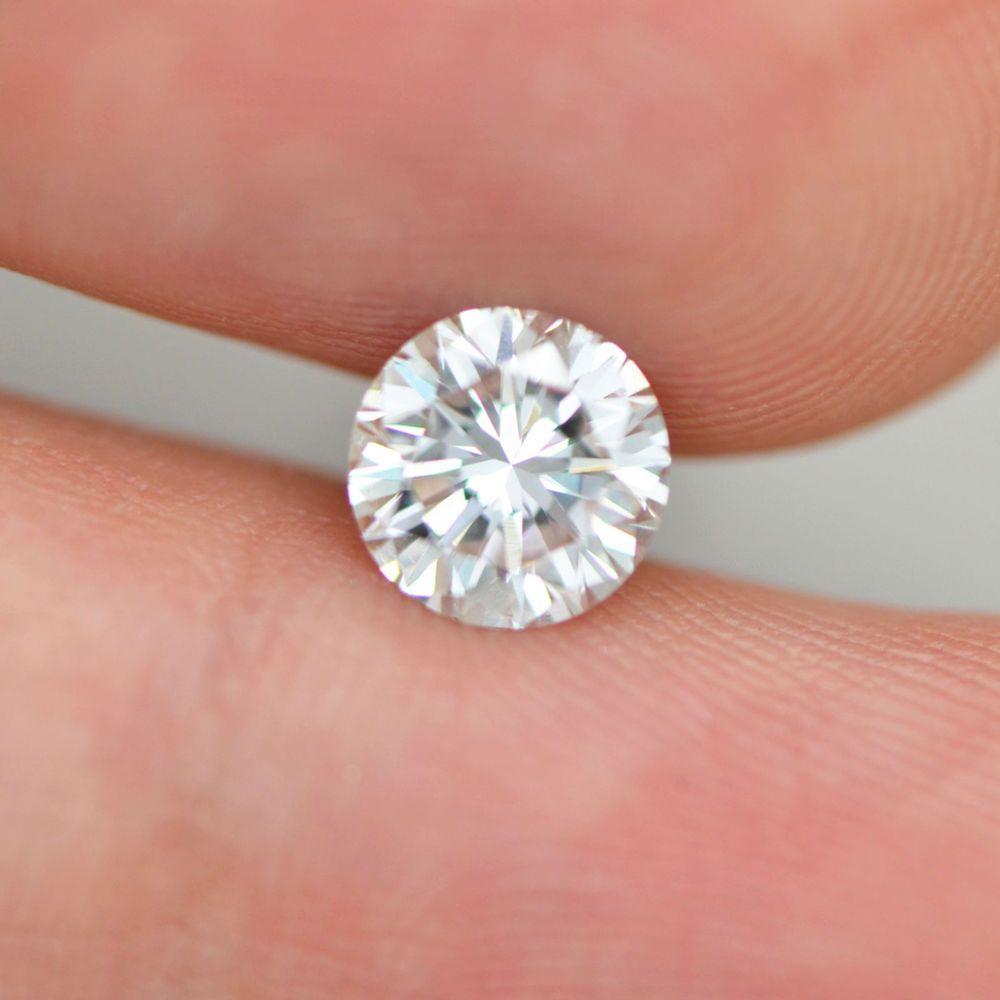 Round Brilliant 1.05 Carat Natural Loose Enhanced Diamond F Color ...