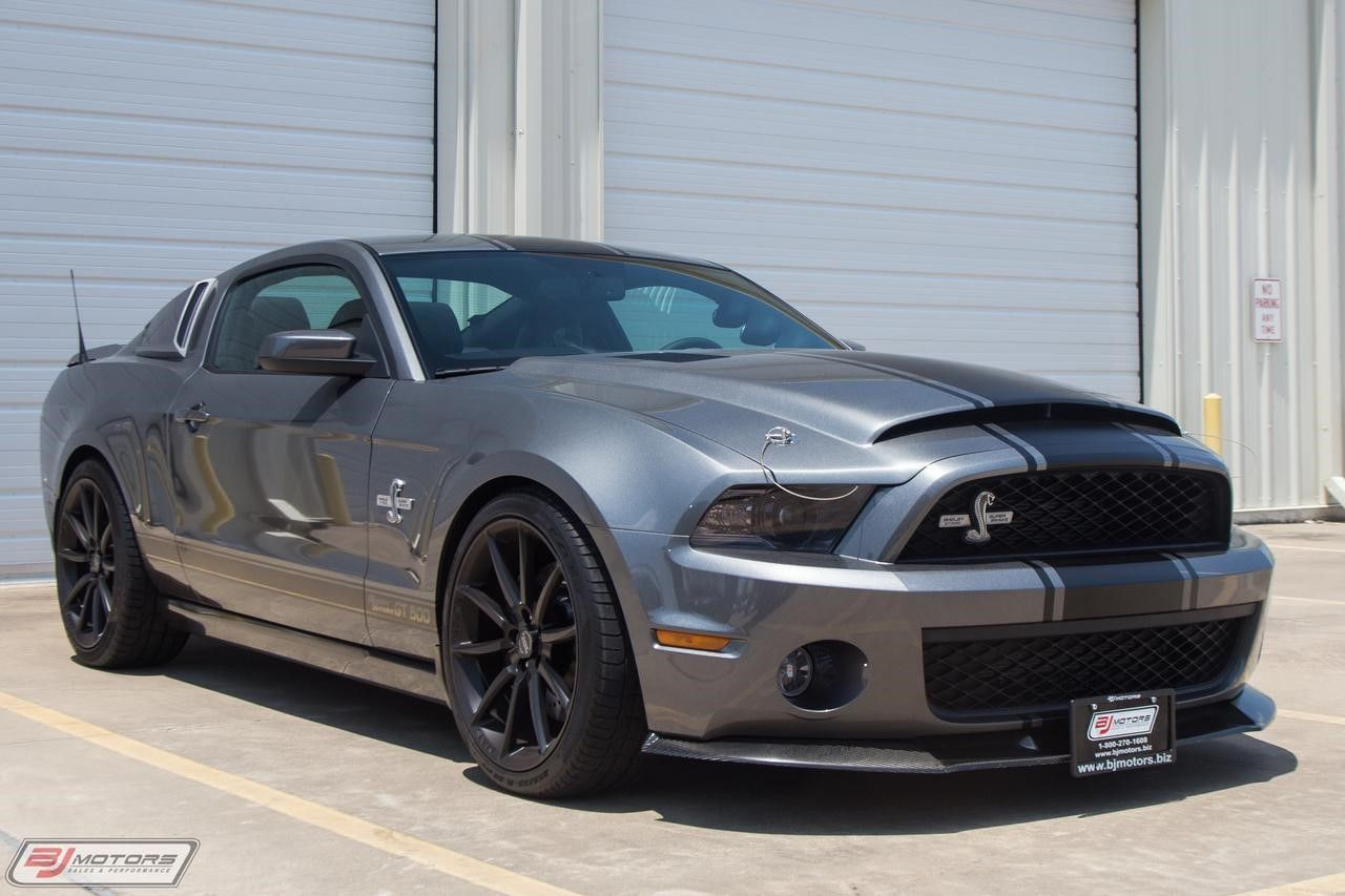 Ford Mustang Shelby Gt500 Super Snake For Sale Houston Tx Ford
