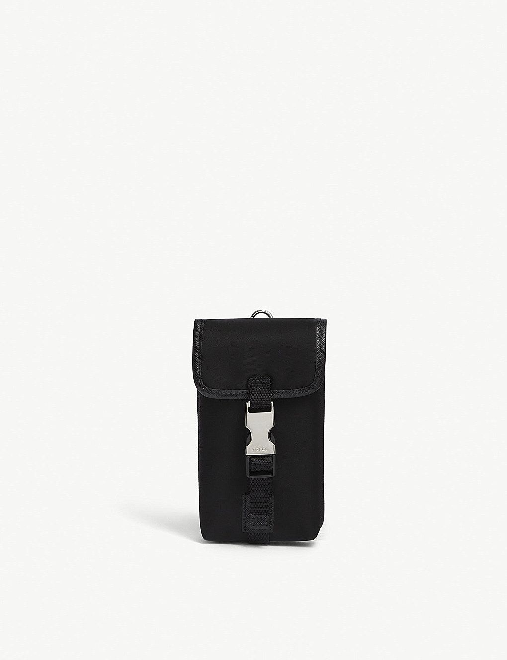 1382aed5a6 Single clip nylon keyring pouch   Madison Ave 17&18   Prada, Pouch ...