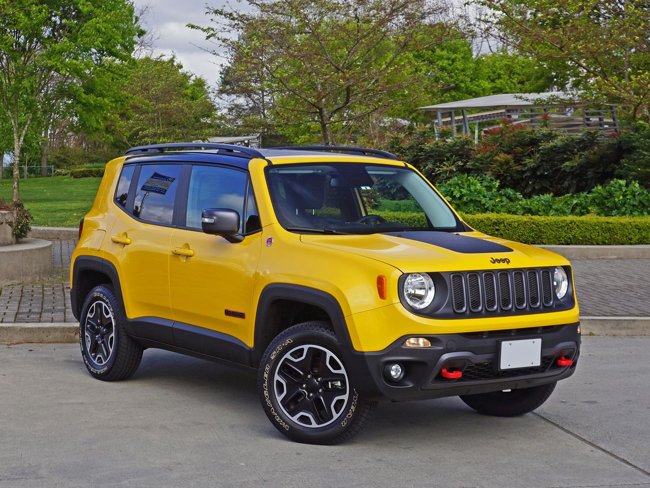 Jeep Renegade Yellow Autos Camionetas Caras