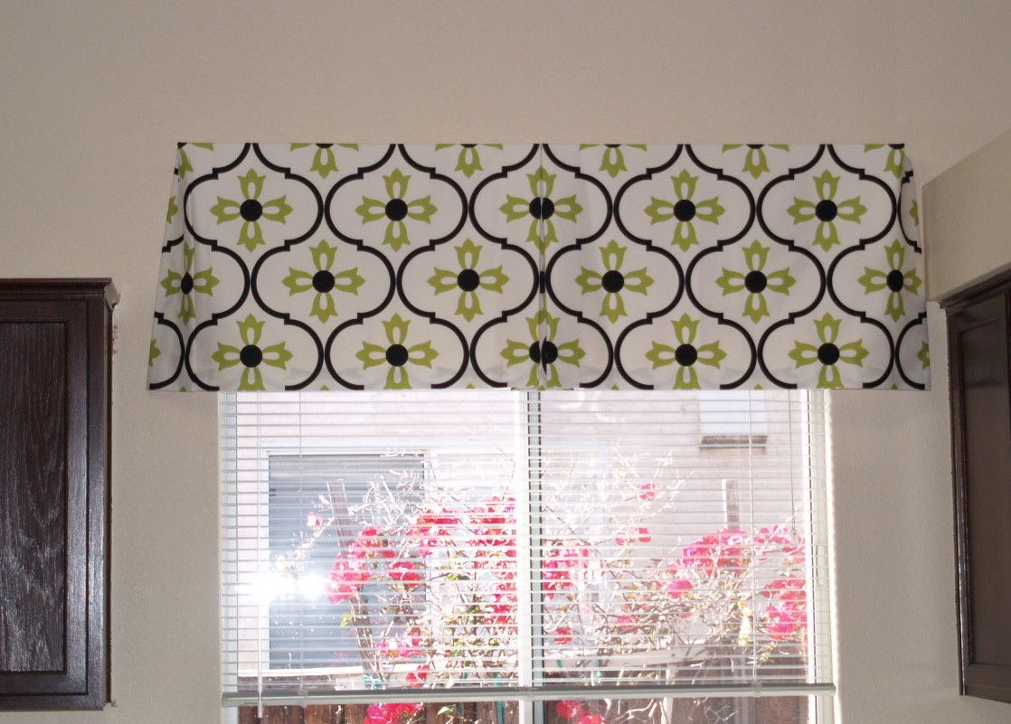 Easy Valance Cornice I Think The Same Results Could Be Achieved