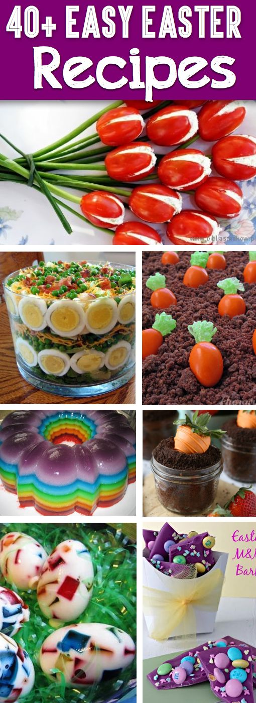 40 Easter Recipes That Will Instantly Turn Every Mom Into A Master Chef! Easter recipes that do not require you to spend too much money on ingredients, or to invest too much time in the preparation process. Best ideas for 2019. #easter #easterrecipes #besteasterrecipes #easterideas