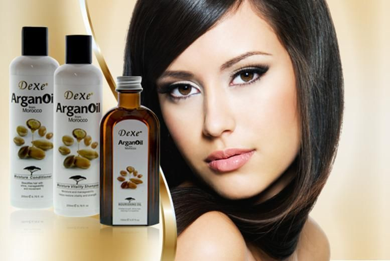 3pc Argan Oil Hair Pamper Pack
