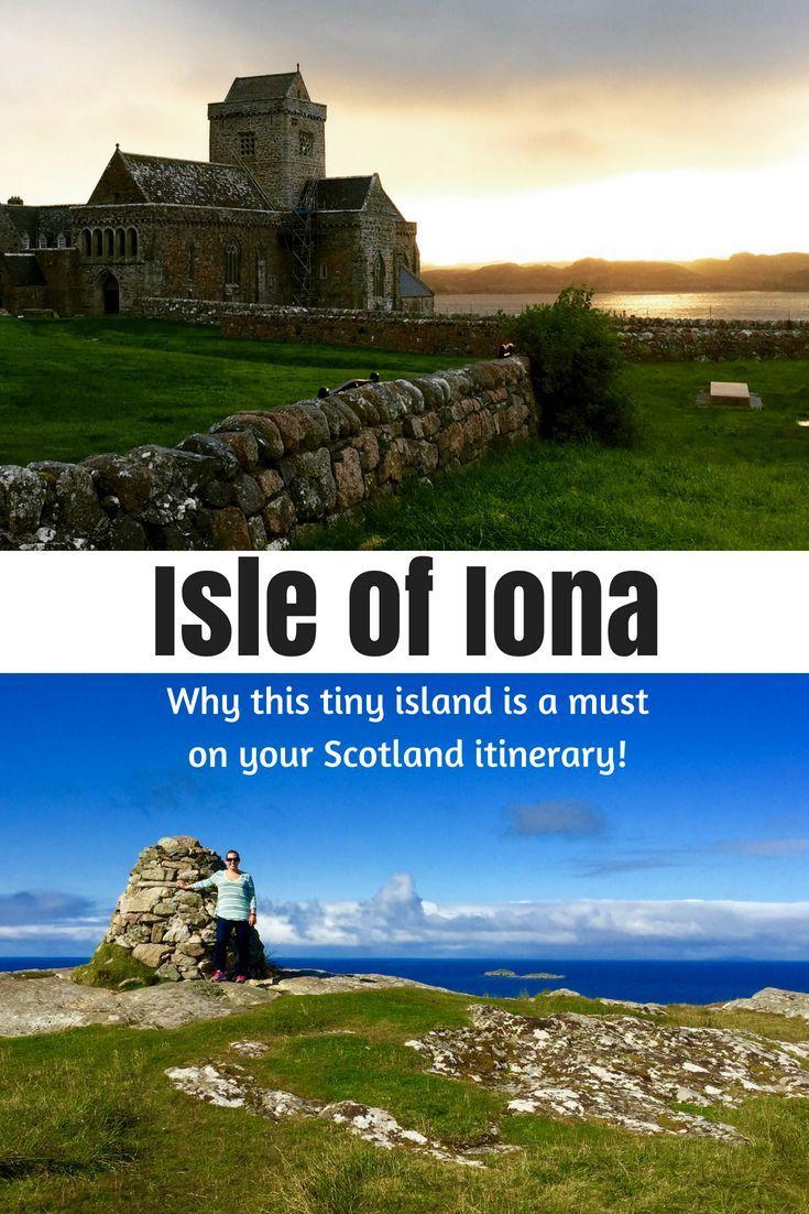 Soaking in Serenity on Scotland's Tiny Isle of Iona #travelscotland
