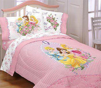 Disney Princesses Rose Garden Full Comforter By Disney 49 99 Rich Elegant Look And Feel One Disney Pr Kids Comforter Sets Bed Disney Princess Bedding Twin