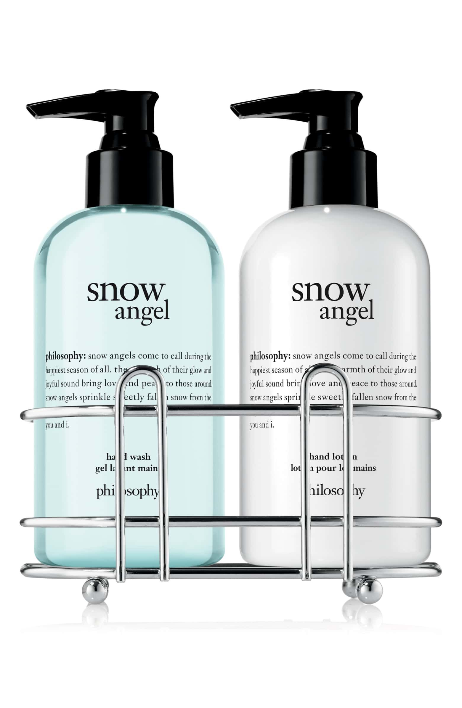 Philosophy Snow Angel Hand Care Duo Nordstrom Hand Care Snow Angels Skin Care Gifts