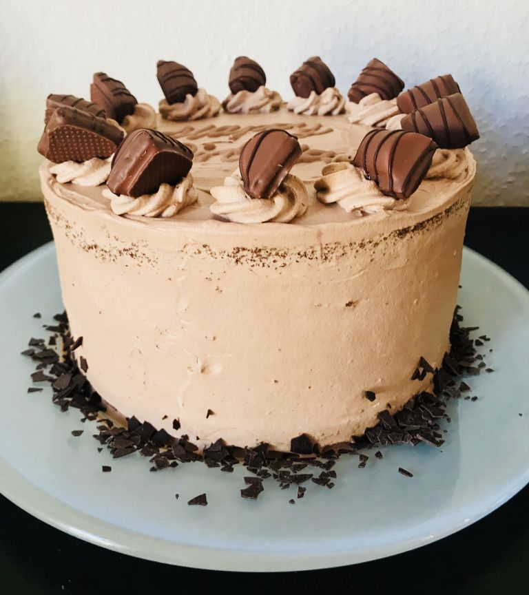 Kinder Bueno Torte Tortengluck Pinterest