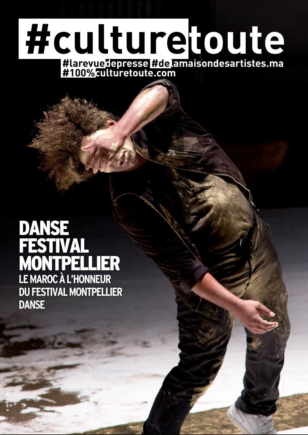 Culturetoute105  La revue de presse du mardi 12 Juillet 2016  ➡ En couverture, Le Maroc à l'honneur du festival Montpellier danse ➡…