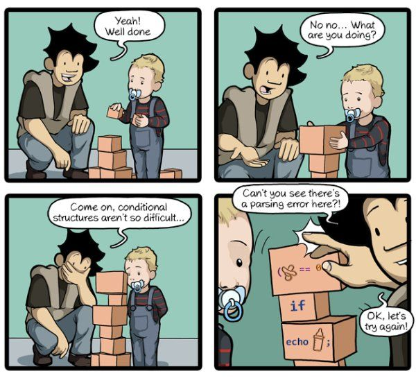 It's never too early #commitstrip #comic