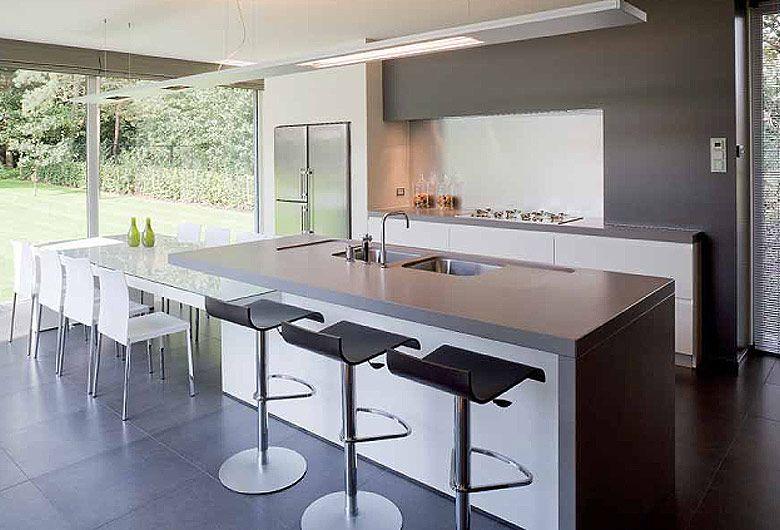 Culimaat Ligna Designkeuken : Schellen Architecten: Nijlen. Interieur ...