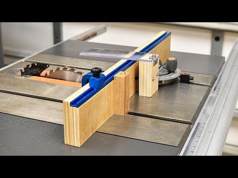 How To Make A Simple Crosscut Jig Table Saw Sled Table Saw Easy Woodworking Projects