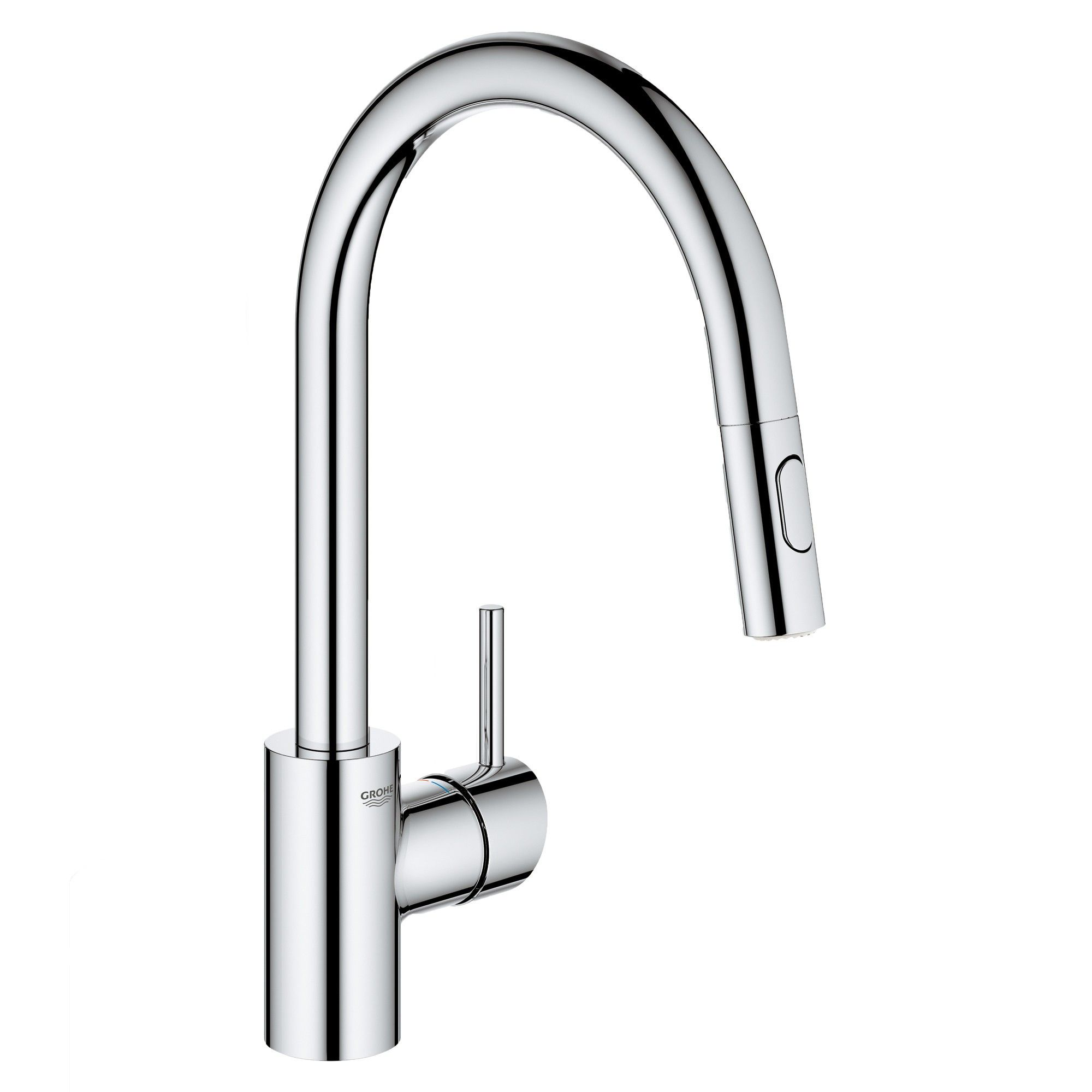 Grohe America Inc 32 665 3 Concetto 1 75 Gpm Single Hole Pull