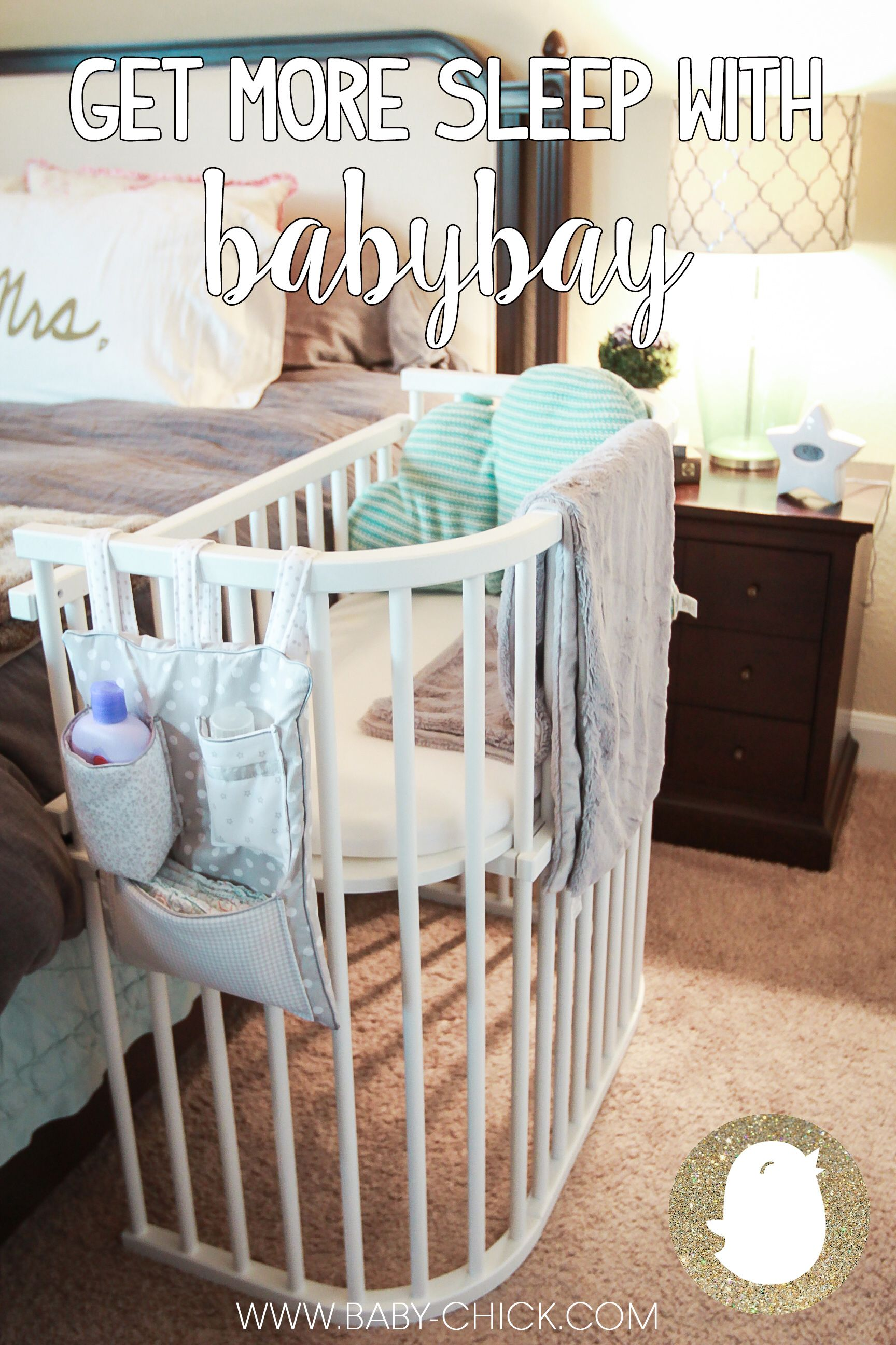 Baby bed next to bed - Get More Sleep With Babybay Baby Bedsbaby