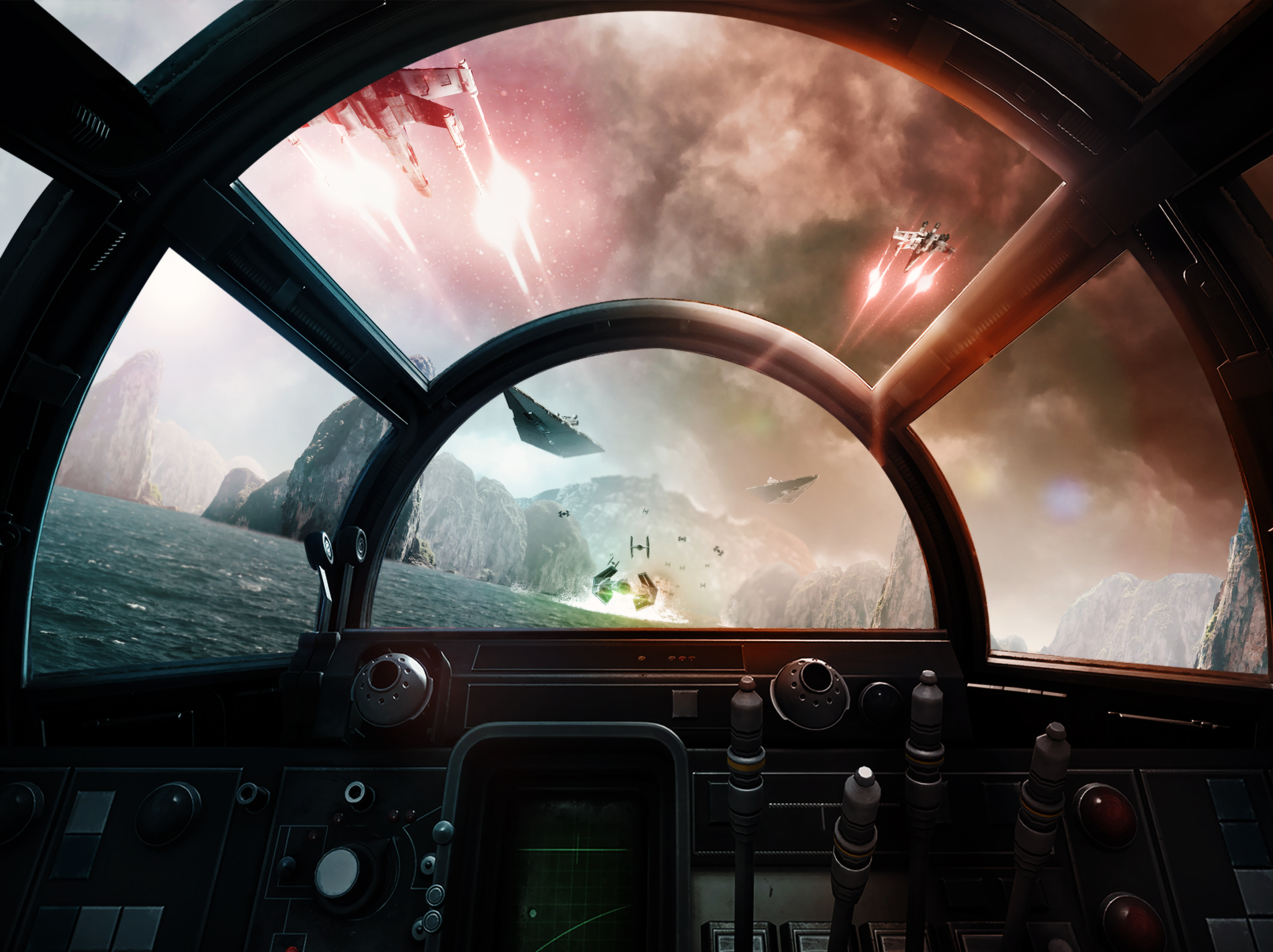 Pilots Wanted Wallpaper By Me Inspired By Star Wars Squadrons 3840x2160 Star Wars Awesome Star Wars Background Star Wars