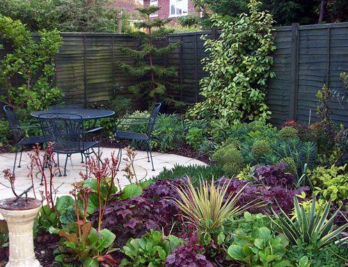 north facing town garden | North facing garden, Small ...