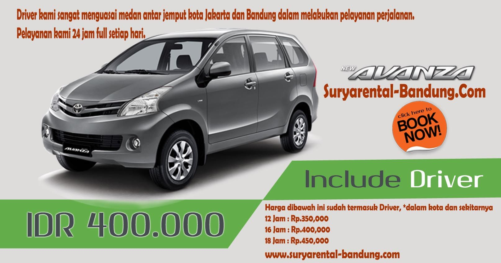 bbm untuk grand new avanza toyota yaris trd turbo kit wajib gunakan sewa mobil bandung include driver all harga yang murah