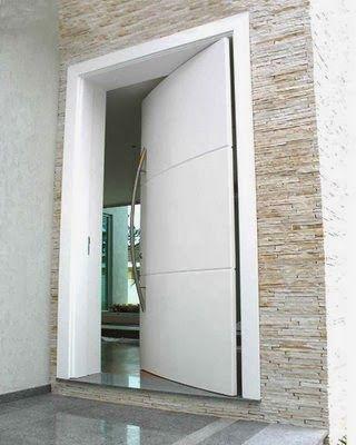 tipos de puertas modernas estilosas