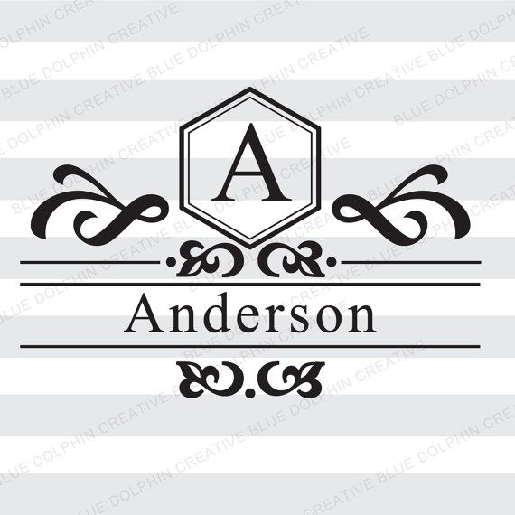 c9b600b6c7be5 Mailbox Letter Name Monogram Frame SVG png pdf   front door decal art    Cricut