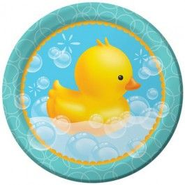 Bubble Bath Party Supplies, Bubble Bath Dinner Plates, Tableware
